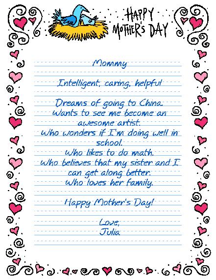 Mothers day bio poem technology cottage bio poem pronofoot35fo Choice Image